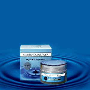 Krem regenerujący na noc Natural Collagen - 50ml